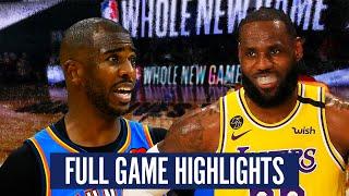 OKC THUNDER VS LA LAKERS - FULL GAME HIGHLIGHTS | 2019-20 NBA SEASON