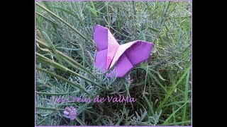 Papillon Origami / Butterfly Sewing - Tuto Couture ValMa