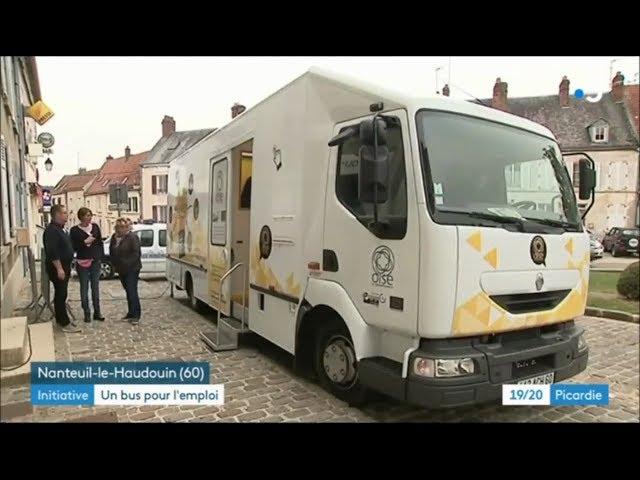 Bus départemental pour l'emploi : reportage de France 3