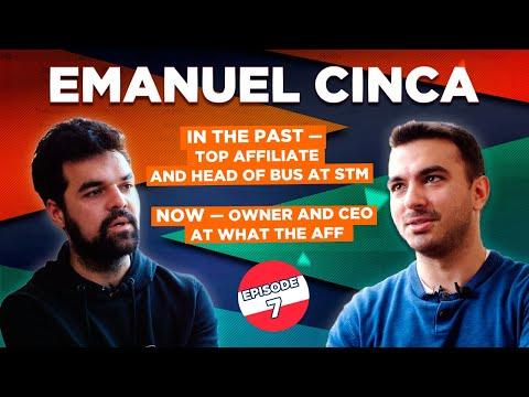 Emanuel Cinca – Affiliate, Online Entrepreneur, Founder wtaff.co видео