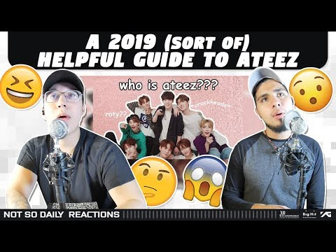 Kpop Reaction A Helpful Guide To Ateez