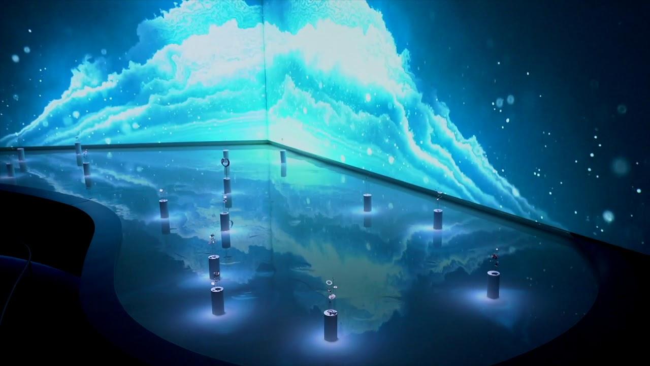 ミラノデザインウィーク2019「THE NATURE OF TIME」のイメージ映像。