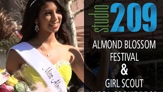 Studio209: Ripon's Almond Blossom Festival; Girl Scout Mega Cookie Drop