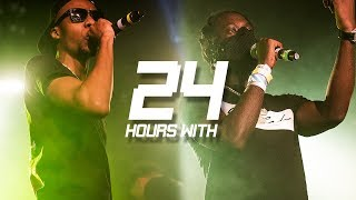 Skengdo & AM - 24 Hours With (Ep.15) | Link Up TV