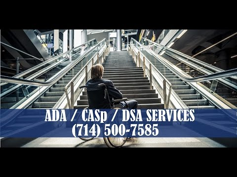 ADA CASp Compliance Los Angeles Orange County California ...