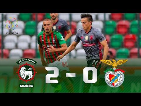 AGORA O CAMPEONATO VAI FERVER! Veja os melhores momentos de Marítimo 2x0 Benfica pela Liga NOS