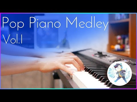 SLSMusic|POP SONG PIANO MEDLEY Vol.I (Titanium, Payphone, Stronger, Hello, See you Again, etc.)