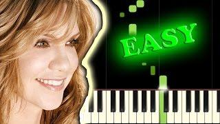 ALISON KRAUSS - WHEN YOU SAY NOTHING AT ALL - Easy Piano Tutorial