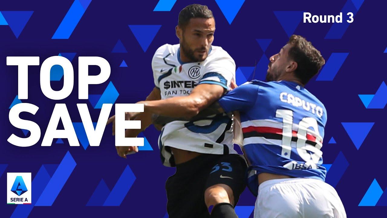 D'Ambrosio's AMAZING save on the line! | Sampdoria 2-2 Inter | Round 3 | Serie A 2021/22