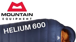 THIS SLEEPING BAG IS A BEAST!! |Mountain Equipment HELIUM 600 REVIEW