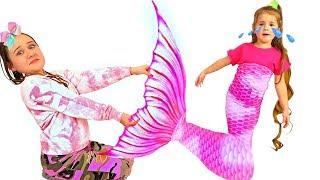 Ruby & Bonnie Both Want The Same Little Mermaid Tail