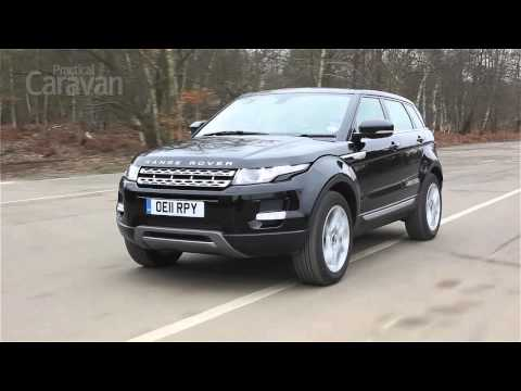 Practical Caravan reviews the Range Rover Evoque SD4 Prestige Automatic