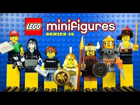 Vidéo LEGO Minifigures 71007 : Série 12
