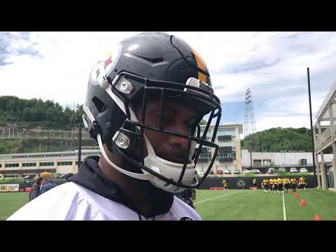Steelers WR Donte Moncrief 5/21/19 | OTAs | Steelers Now