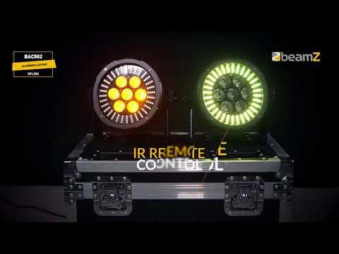 "Šviesos efektai ""BeamZ BAC502"" kaina ir informacija   Dekoracijos šventėms   pigu.lt"