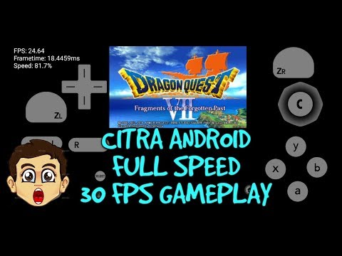 New Citra Emulator for MALI GPU smartphones/3DS Games can
