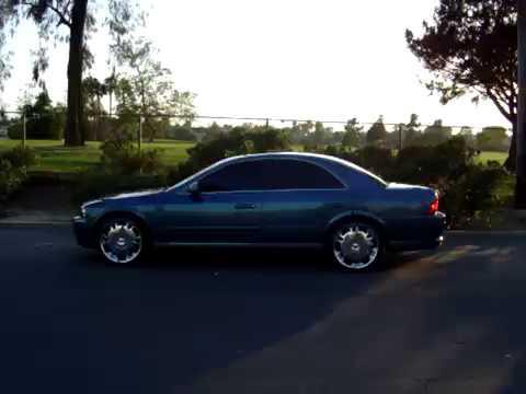 "Lincoln LS 2001 V6 sport with Dvinchi Tuscany 20"" wheels"