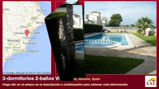 preview picture of video '3-dormitorios 2-baños Villa se Vende en Algorfa, Alicante, Spain'