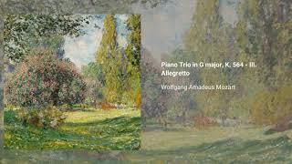 Piano Trio in G major, K. 564