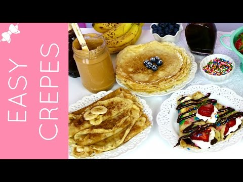How To Make THE BEST Easy Crêpes with Pancake Mix // Lindsay Ann Bakes