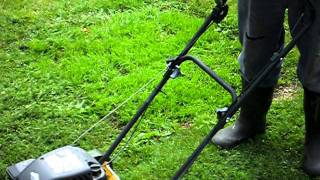lawnmower with high revs