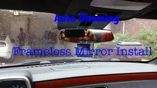 DIY: Camaro Frameless Auto-dimming Rearview Mirror install