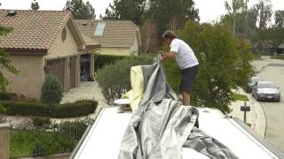 ADCO - How To Install a Designer Series Tyvek Wind Resistant Cover
