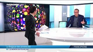 Frédéric Sojcher sur le plateau de TV5Monde