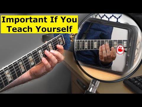 Guitar Practice - How To Be Your Own Teacher