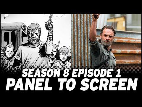 The Walking Dead Season 8 Premiere - Show vs. Comic!
