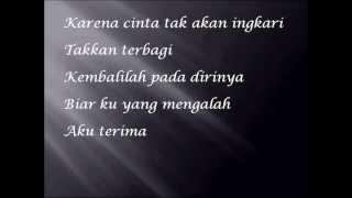 Cinta Begini With Lyrics ( Cover )