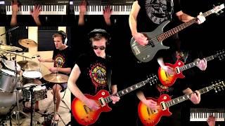 Garden Of Eden   Guns N' Roses Guitar (Solo) Bass Drum Synth Cover + Tabs