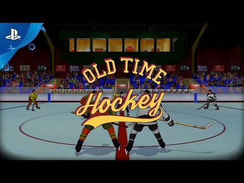 Old Time Hockey - Gameplay Trailer | PS4