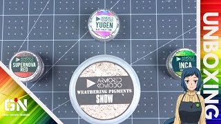 Armored Komodo ChromaFlair Pigment & Snow Wathering Pigment - Unboxing