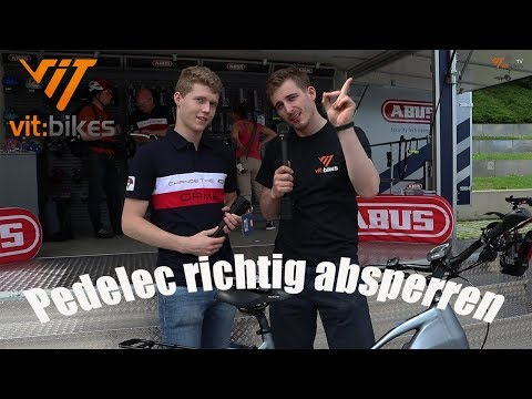 Pedelec/Ebike richtig absperren - vit:bikesTV E-bike Days Spezial 085