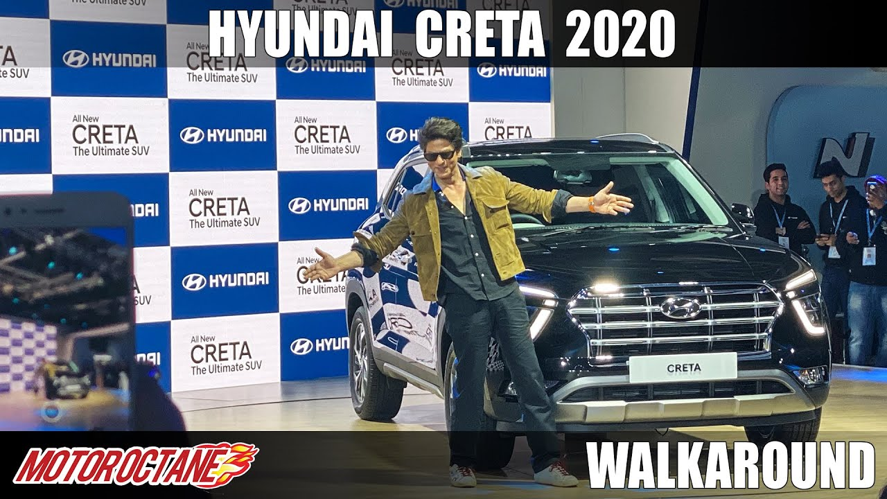 Motoroctane Youtube Video - Hyundai Creta 2020 - Shahrukh Khan's Favourite   Hindi   Auto Expo 2020
