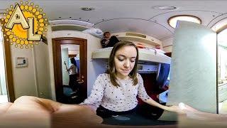 Мягкое купе 360 градусов  | Видео 360 панорамное  | Поезд 102М РЖД