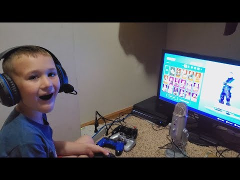 "My Son's Reaction To Me Buying Him The ""Dark Reflections Pack"" In Fortnite (Dark Reflections Pack)"