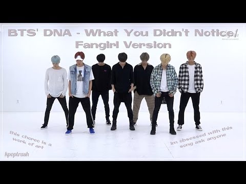 BTS' Dope - What You Didn't Notice/Fangirl And Fanboy