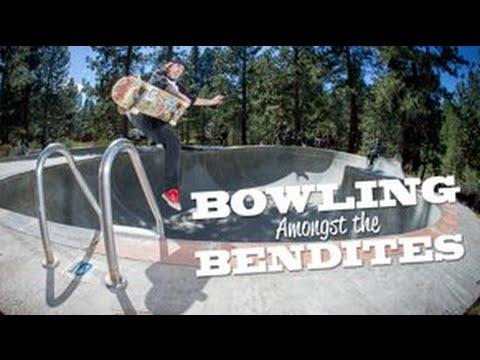Lifeblood Skateboards: Bowling Amongst The Bendites - Central Oregon Skateboarding