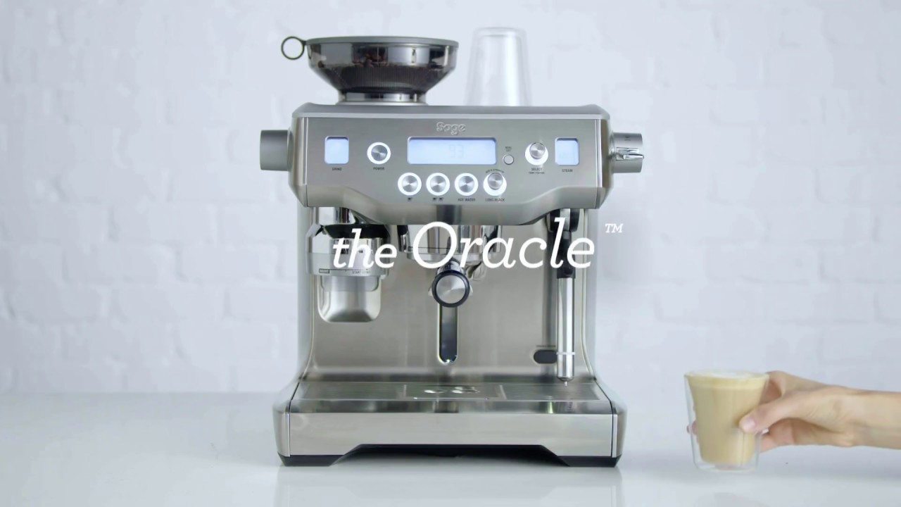 Make a latte with the Oracle™