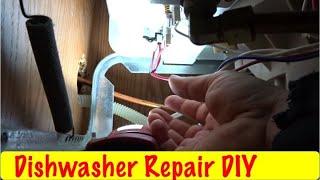 DIY Dishwasher Timer Stuck at 6 o'clock Postion