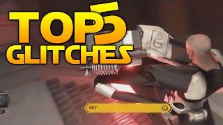 Star Wars Battlefront Top 5 EPIC GLITCHES + Bonus Clips