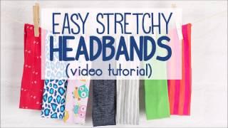 Stretchy Headband Tutorial