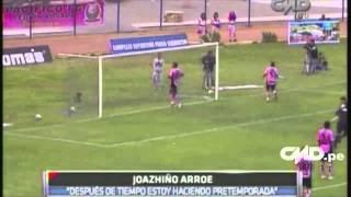 Central Deportiva: Entrevista a Joazhiño Arróe (Sporting Cristal)