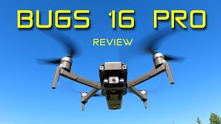 Bugs 16 Pro is the BEST budget camera drone for flying in the WIND!