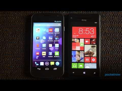 Windows Phone 8 vs. Android 4.1