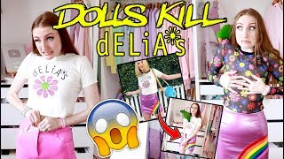 DOLLSKILL x dELiA*s HAUL AND TRY ON!!! 1990's FASHION IS BACK??
