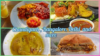 Food Album -2 | Chandigarh Bangalore Delhi and many more Places | Food Images