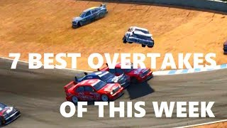 7 BEST OVERTAKES OF THIS WEEK IN LESS THAN 3 MINUTES